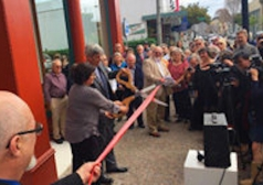 Ribbon Cutting Ceremony for Carson Block Building (Historic Renovation)