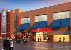 Construction Has past 50% on Antaeus Theatre