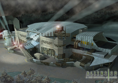 Aliens 4D Theatre Samsung's Everland Park