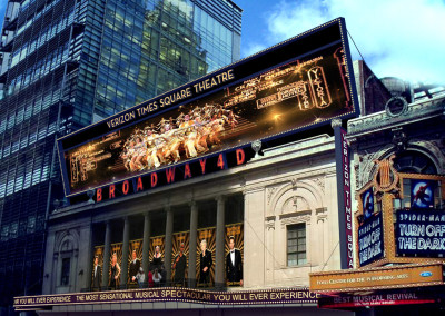 Times Square Broadway 4D Theatre