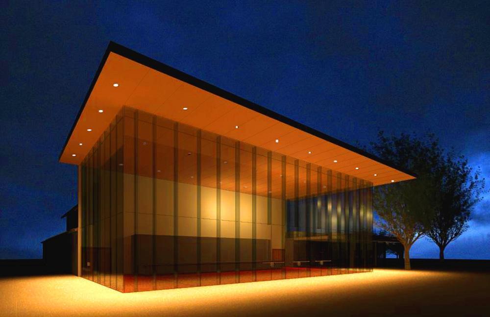 AGBU-School-Manoukian-Center-3-Exterior-nighttime-Rendering1