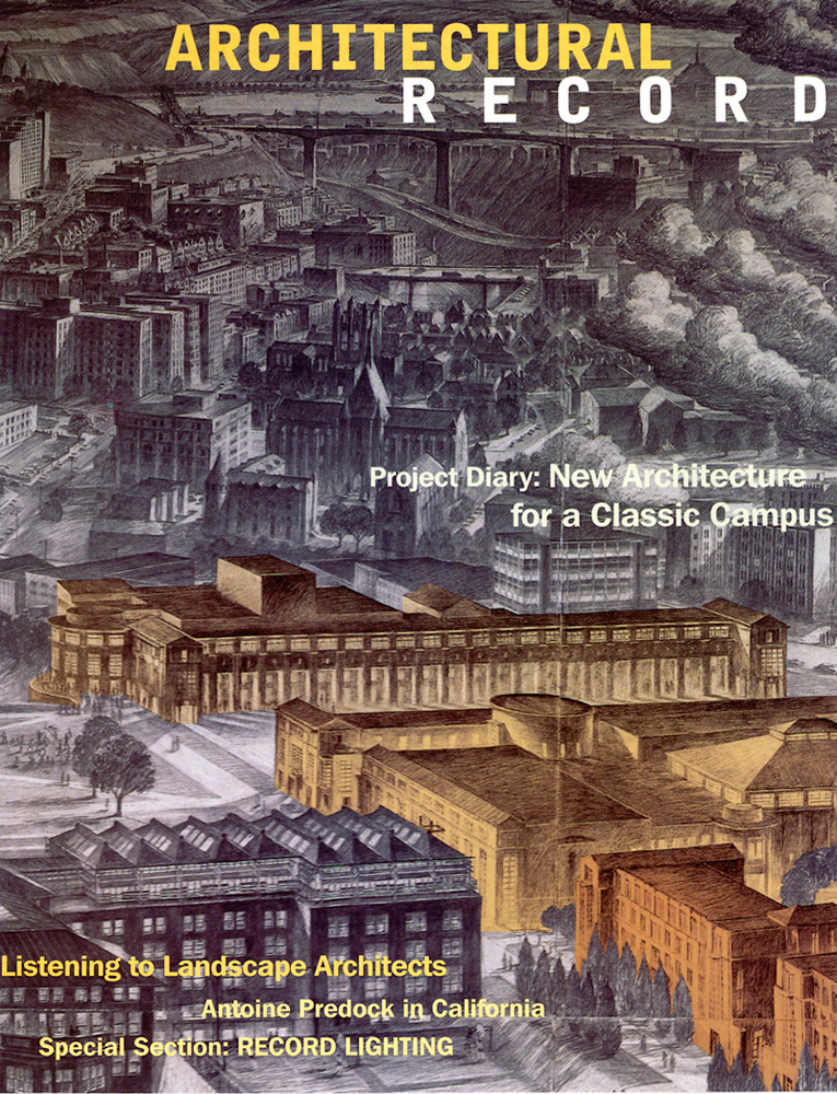 Carnegie-Mellon-Univ-Purnell-Center-for-the-Arts-5-Architectural-Record-magazine-Cover