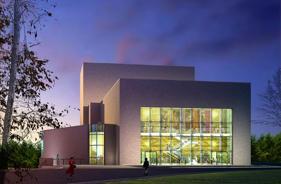 Fairmont-State-Univ-Performing-Arts-Center-1-Entrance-Lobby-Rendering