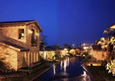 Longhu Blue Lake County Housing Development