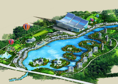 Ocean Park Resort for Dujiangyan