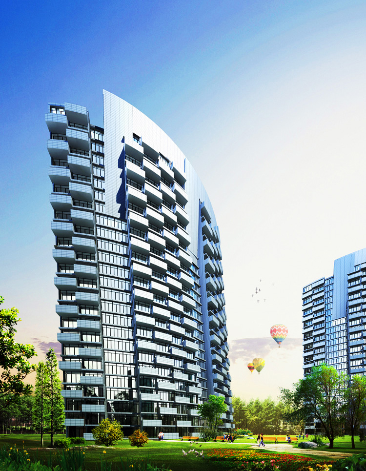 Ocean-Park-Resort-for-Dujiangyan-4-Condo-Tower-Rendering
