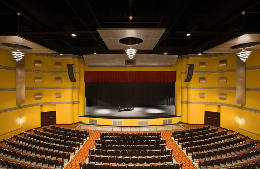 Port-Arthur-High-School-for-the-Arts-Renovation-4-Audience-Chamber1