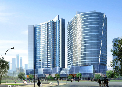 ShenYang Jinli Residential-Commercial Plaza