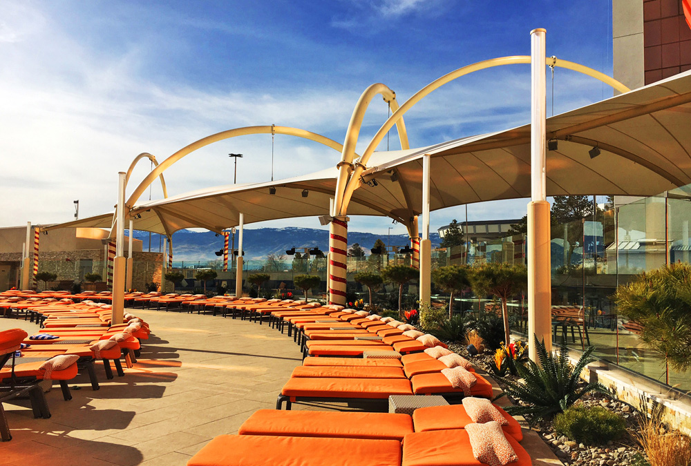 Theater News Grand Sierra Resort Pool Construction Finished